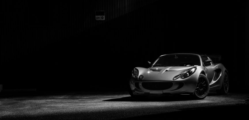 Lotus Elise at Night
